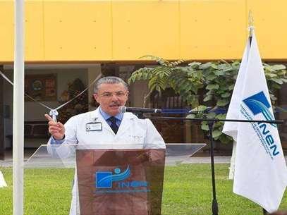 Dr. Carlos Vallejos, director del Instituto Nacional de Neoplásicas (INEN). Foto: ANDINA