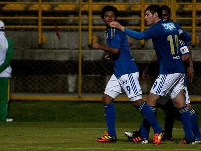 Humberto Osorio Botello anotó su décimo gol con Millonarios. Foto: John Paz / Terra