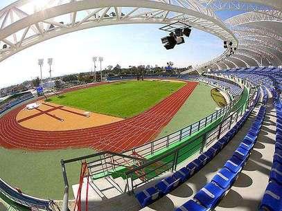 Estadio del complejo de atletismo de los Juegos Panamericanos Foto: Mexsport