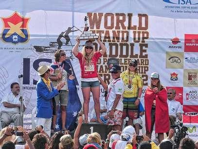 Brissa Málaga gana el cobre y Perú se ubica quinto en el ISA World StandUp Paddle and Paddleboard Championship Foto: Alejandra Devescovi / Terra