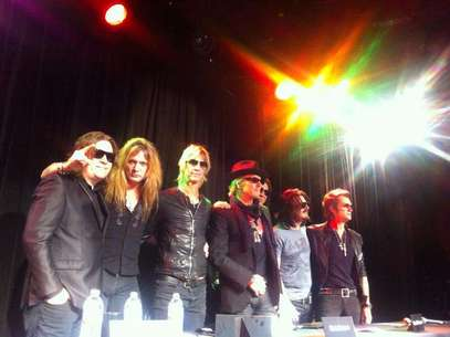 Rock And Roll All Stars Foto: Facebook de Sebastian Bach