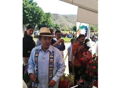 El presidente Calderón realiza este jueves una gira de trabajo por Chiapas. Foto: Antonio Baranda / Reforma.