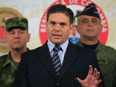 Según Pinzón, entre los guerrilleros muertos está alias 'Jeisson', sobrino de alias El Mono Jojoy. Foto: MinDefensa.