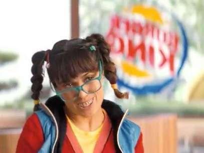 Salma Hayek en el comercial de Burger King. Foto: Imagen captada del video