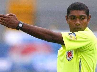 Imer Machado, árbitro FIFA colombiano. Foto: Cortesía Colfutbol.org