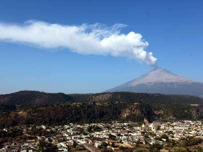 Popocatépetl  Foto: Agencia Reforma