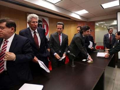 """Presentación del portal """"penasicumple.com"""" Foto: Reforma"""