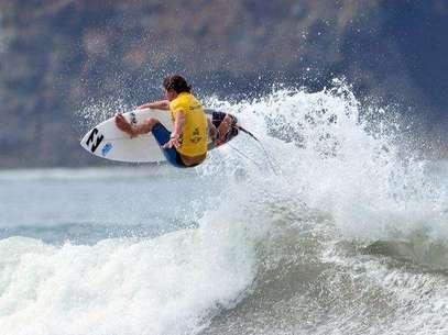 Carlos Mario Zapata, en Sub 18, luchó por continuar en competencia. Foto: Fenta
