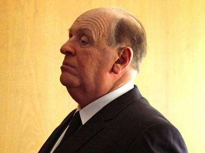 Primer vistazo a Anthony Hopkins como Alfred Hitchcock. Foto: Difusión
