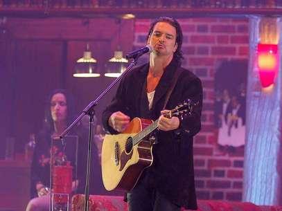 Anoche, ante 15 mil personas,  Ricardo Arjona ofreció el primero de los cuatro conciertos que dará en Chile Foto: Agencia Uno