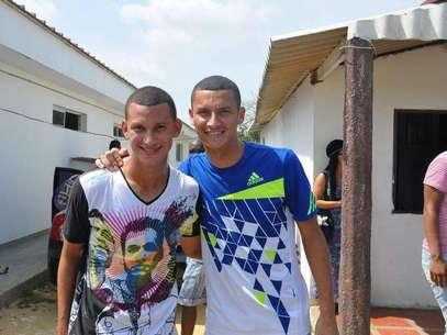 Luis Páez encontró su doble en las divisiones menores del Junior de Barranquilla. Cesar Torres, un volante zurdo de la cantera rojiblanca. Foto: Juan Carlos Rocha / Terra