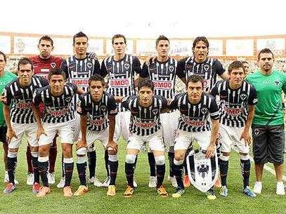 El once inicial de Rayados en la final de la Concacaf Liga de Campeones Foto: Mexsport / Terra Networks México S.A. de C.V.