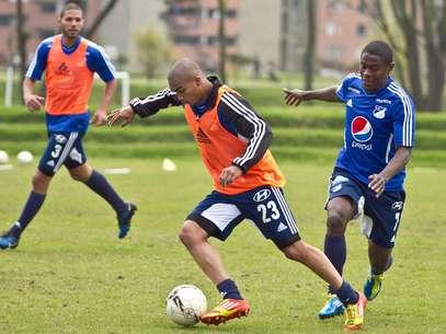 Lewis Ochoa, lateral derecho de Millonarios. Foto: David Felipe Rincón / Terra
