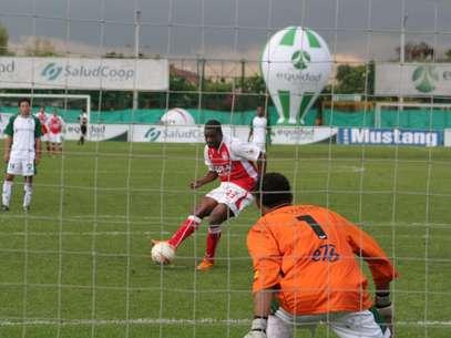 Liéder Calimenio Preciado Guerrero, goleador que tuvo Independiente Santa Fe.
