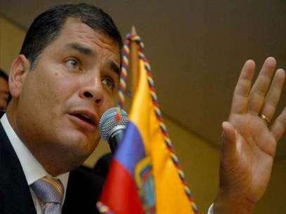 Presidente Rafael Correa Foto: Gentileza