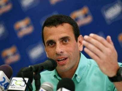 Candidato presidencial opositor venezolano Henrique Capriles. Foto: Gentileza