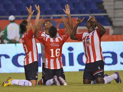 Junior espera acercarse a la clasificación después de enfrentar a Atlético Nacional Foto: Terra