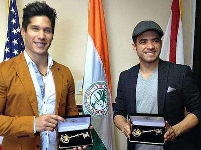 Chino & Nacho dueños de Miami, reciben llaves de la ciudad Foto: Sitio Oficial