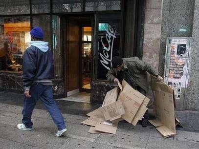 La crisis afecta a los más desfavorecidos (Agencia: Europa Press) Foto: Telefónica de España, SAU