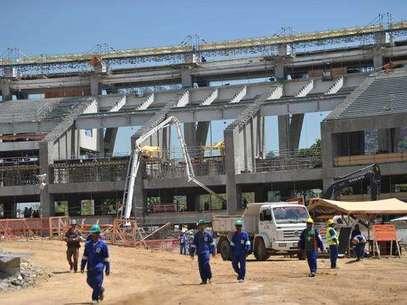El Estadio Maracaná, será el principal escenario en el Mundial 2014, y las obras están muy atrasadas Foto: Getty Images