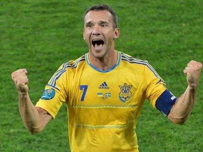 Andriy Shevchenko se uniría a un partido político empresarial después de anunciar su retirada del fútbol. Foto: AFP