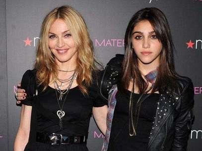 Madonna y Lourdes su hija Foto: Getty Images