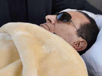 Desde su ingreso en la prisión, la salud de Mubarak comenzó a deteriorarse, y durante sus 17 días en Tora ha tenido que ser atendido de emergencia en varias ocasiones por recaídas. Foto: Mohammed al-Law, Archivo / AP
