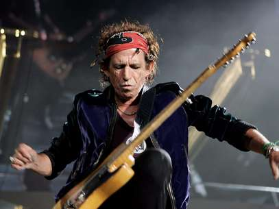 Keith Richards de los Rolling Stones Foto: Getty Images