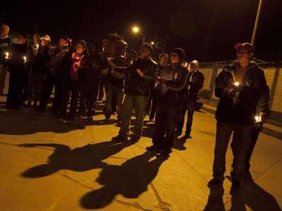 Enfrentamientos entre la policía y los manifestantes en Cajamarca. Foto: EFE en español