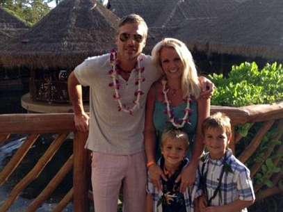 Britney Spears vacaciona en Hawaii antes de 'X Factor'. Foto: Twitter/Britney Spears