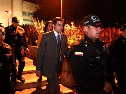 Varela fue recluido en el búnker de la Fiscalía en Bogotá y su situación será definida este miércoles en una audiencia. Foto: Fiscalía