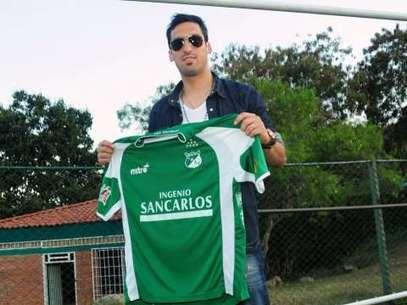 Sergio William Leal Gonzales, es el nuevo jugador del Deportivo Cali Foto: Cortesía: Facebook.com/DeportivoCaliOficial