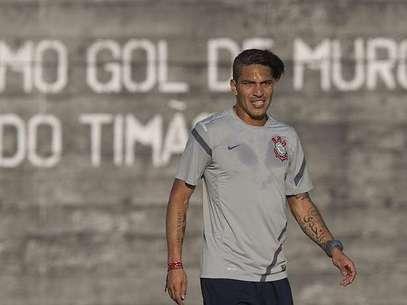 El 'Depredador' podría ser de la partida este domingo frente al Bahía. Foto: www.agenciacorinthians.com.br