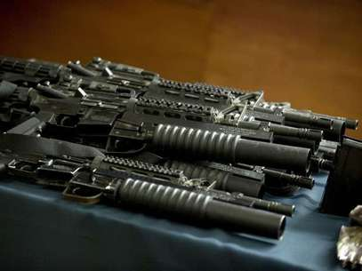 La operación 'Rápido y Furioso' permitió el tráfico de armas de EE.UU. a las bandas de la droga en México. Foto: AFP