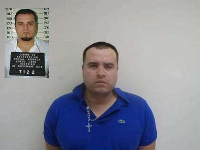 José Ricardo Barajas López, presunto delincuente al servicio de la organización criminal de Los Zetas. Foto: EFE en español