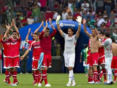 Toluca took the lead in the Apertura 2012.  Foto: Mexsport