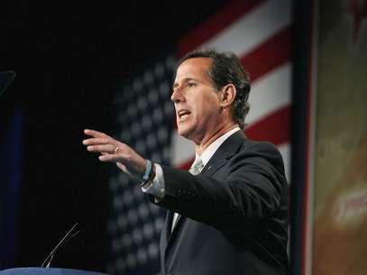 El ex senador Rick Santorum será uno de los oradores en la Convención Republicana. Foto: Getty Images