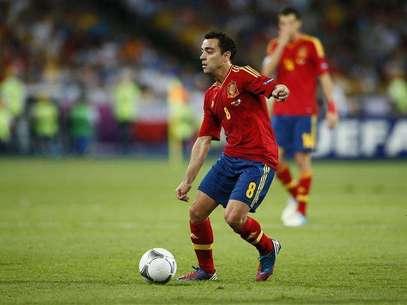Xavi podrá descansar para el inicio de la liga. Foto: Tony Gentile / Reuters