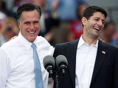Romney eligió a Ryan como su candidato a la VP de EE.UU. por el partido republicano. Foto: Getty Images