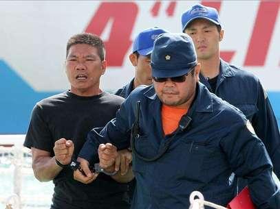 Nuevas protestas chinas por la detención en Japón de 14 activistas en Diaoyu Foto: Agencia EFE / © EFE 2012. Está expresamente prohibida la redistribución y la redifusión de todo o parte de los contenidos de los servicios de Efe, sin previo y expreso consentimiento de la Agencia EFE S.A.