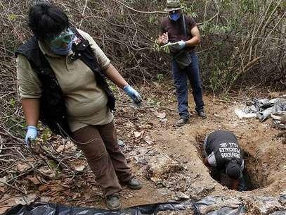 Se presume que algunos cadáveres son de inmigrantes centroamericanos. Foto: Archivo/AFP