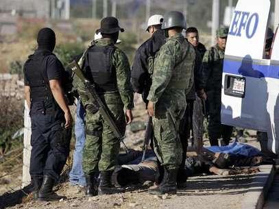 El arresto de dos sicarios llevó al hallazgo de las fosas clandestinas. Foto: AP/Archivo