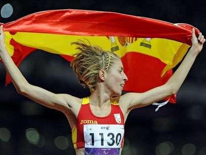 Elena Congost, plata en los 1.500 Foto: Agencia EFE / EFE en español