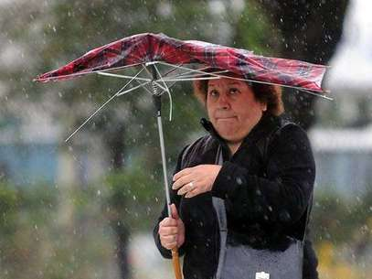 Las lluvias serán ocasionadas por la tormenta tropical Kristy.  Foto: Télam
