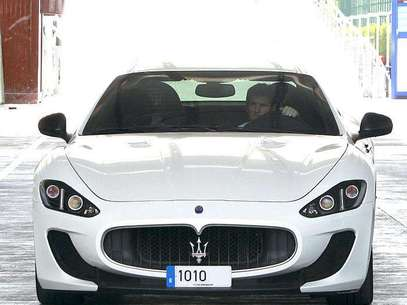 This Maserati Gran Turismo is the new 'toy' of the Barcelona star.  Foto: Especial