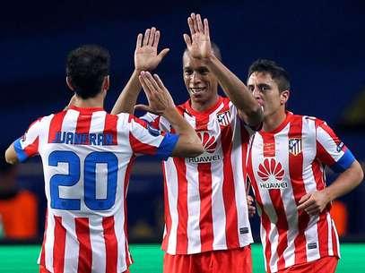 El conjunto colchonero se coronó en la Europa League de la temporada anterior. Foto: AFP