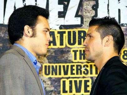 Para el CMB, es más importante la pelea entre Chávez y Martínez que la de Álvarez-López. Foto: Getty Images