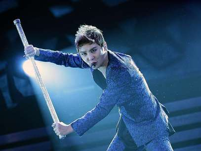 Junsu Xia, la mega estrellad del K-Pop, se presentó en Teatro Caupolicán Foto: Edgard Cross-Buchanan / Terra