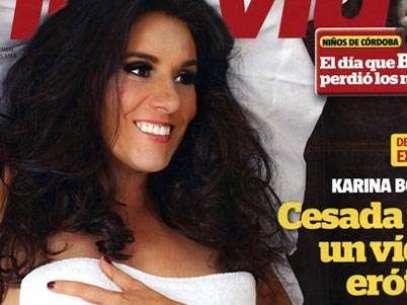 La portada de la revista Interview con Karina Bolaños. Foto: DIFUSIÓN