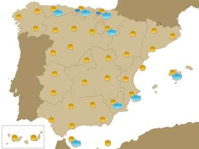 Previsión meteorológica para el 14 de septiembre Foto: Terra